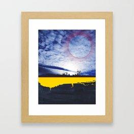 rocky mountain high colorado no.16 Framed Art Print