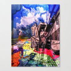 Fabric Road Canvas Print