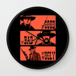 BTTF: The good, the bad and the ugly Wall Clock