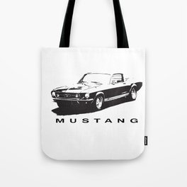 Mustang Design Tote Bag