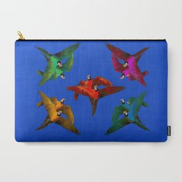 Parrots Party Carry-All Pouch