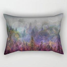 Four Seasons Forest Rectangular Pillow