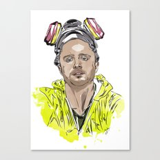 Breaking Bad - Pinkman  Canvas Print