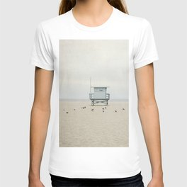 Lifeguard Towers with Birds T-shirt