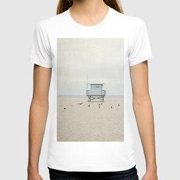 Lifeguard Towers with Birds T-shirt