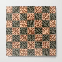 Salisbury Earth Carpet Metal Print
