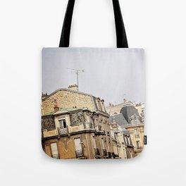 Parisian buildings Tote Bag
