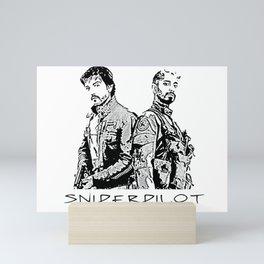 Sniperpilot Mini Art Print