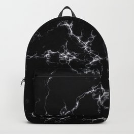 Elegant Marble style4 - Black and White Backpack