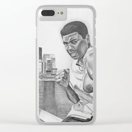 Ali Clear iPhone Case