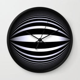 black-and-white -02- Wall Clock