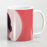 camus Mugs featuring Byronic I by Boris Pelcer