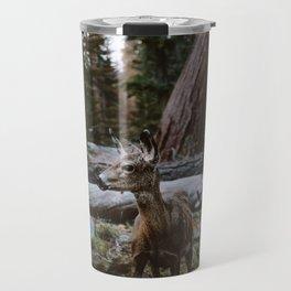 Sequoia Forest Deer Travel Mug