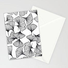 Botanical Outlines   Ginkgo wild Stationery Cards