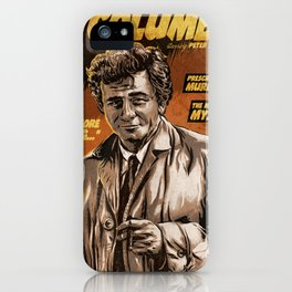 Columbo - TV Show Comic Poster iPhone Case