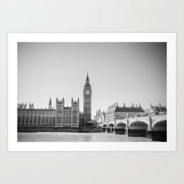 On the Thames Art Print