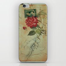 COLLAGE LOVE: The Memory of an Old Romance iPhone & iPod Skin