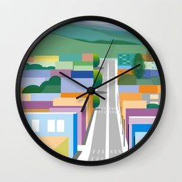 San Luis Obispo Wall Clock