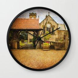 St Anne's Church, Lydgate  Wall Clock