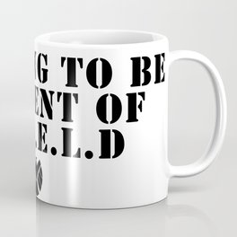 S.H.I.E.L.D Training Coffee Mug