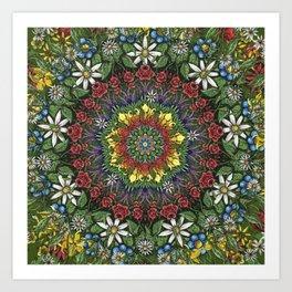 Garden Burst Art Print