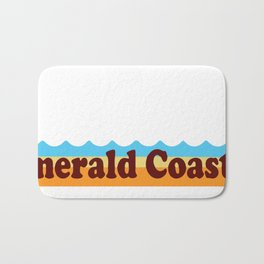 Emerald Coast -Florida. Bath Mat
