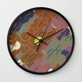 Abstract Geometric Artwork 87 Wall Clock