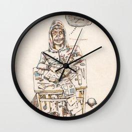 Autorretrat amb ewoks Wall Clock