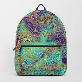 Abstract Marble Backpack