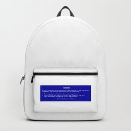 Blue screen of death Backpack