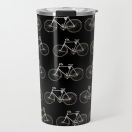 Vintage Bicycle Pattern Travel Mug