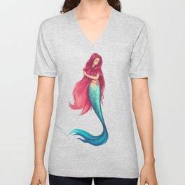 Last of the mermaids Unisex V-Neck