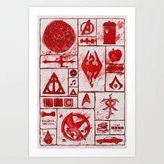 Fandoms that Kill Art Print