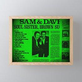 Sam & Dave Framed Mini Art Print