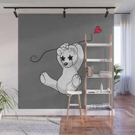 Floating-by Bear Wall Mural