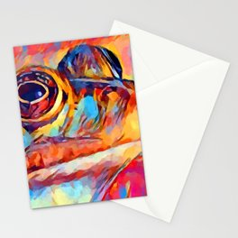 Frog Watercolor Stationery Cards