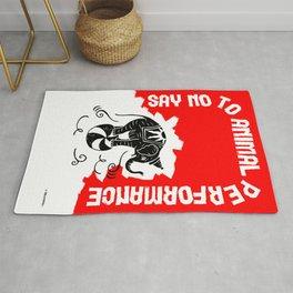 Say NO to Animal Performance – Elephant Rug