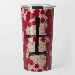 Bushido kanji blood work Travel Mug