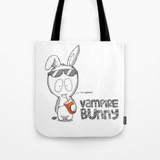 Vampire Bunny! Tote Bag