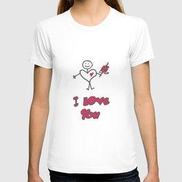 """Heartman """"I Love You"""" T-shirt"""