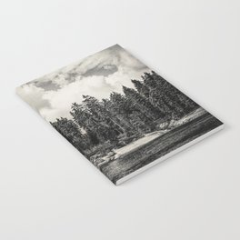Far Away Clouds Passing By Notebook
