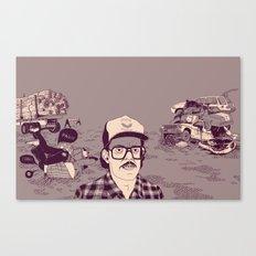 Vish Canvas Print