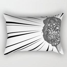 Unveiled Rectangular Pillow