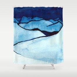 peak views Shower Curtain