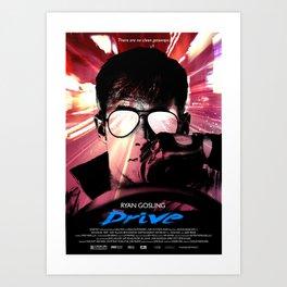 DRIVE LIKE A THIEF Art Print