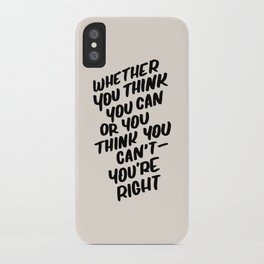 Henry Ford iPhone Case