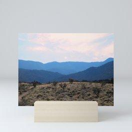 Sandia Mountain Southwest Hue Mini Art Print