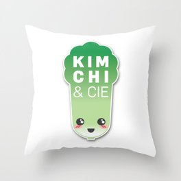 Kimchi & Cie - Official logo Throw Pillow