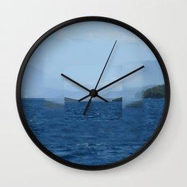 Clear focus Near Meganissi Wall Clock