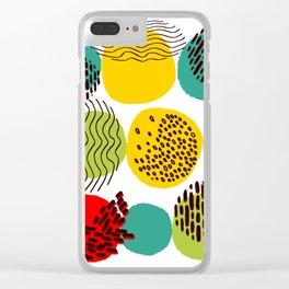 Pattern 003: Seasons Clear iPhone Case